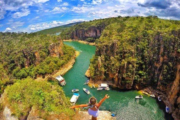 Lugares fantásticos para visitar em Capitólio – Minas Gerais